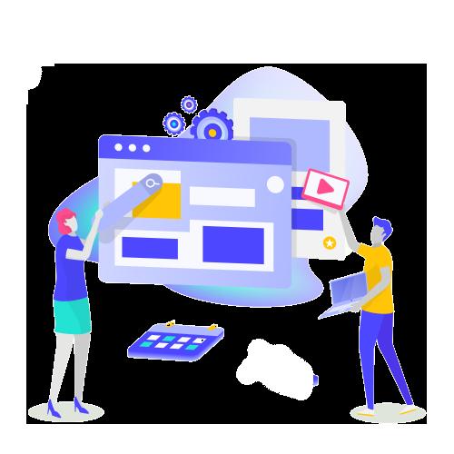 Criação de um website